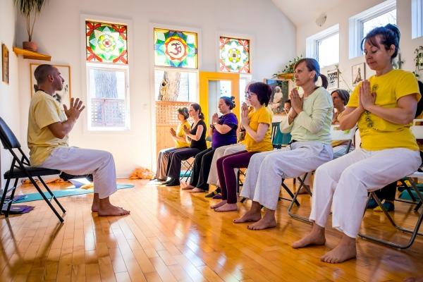 chair yoga training course