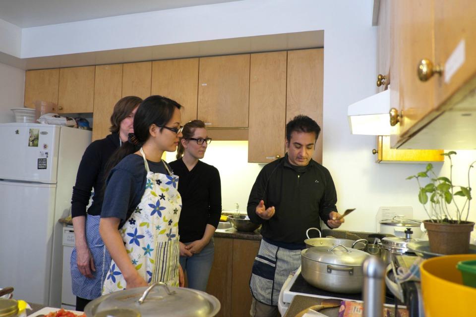Indian Vegetarian Cooking Class - Toronto Sivananda Yoga Centre