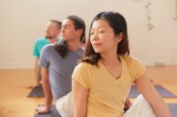 Half Spinal Twist - Toronto Sivananda Yoga Centre