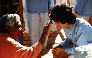 Swami Vishnudevananda and Kids Camp
