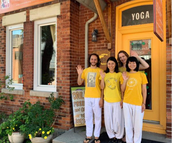 Staff at Toronto Sivananda Yoga Centre